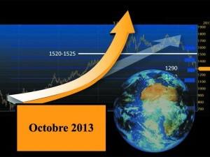 VOTRE COMPTOIR DE RACHAT D'OR ET DE L'ARGENT ET LES  ACTUALITES DU PRIX DE L'OR DU MOIS D'OCTOBRE 2013